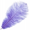 "Ostrich Drab Feathers 9-10"" Premium Quality Lilac"
